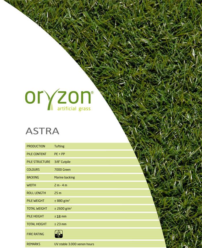 Искусственная трава Oryzon Astra