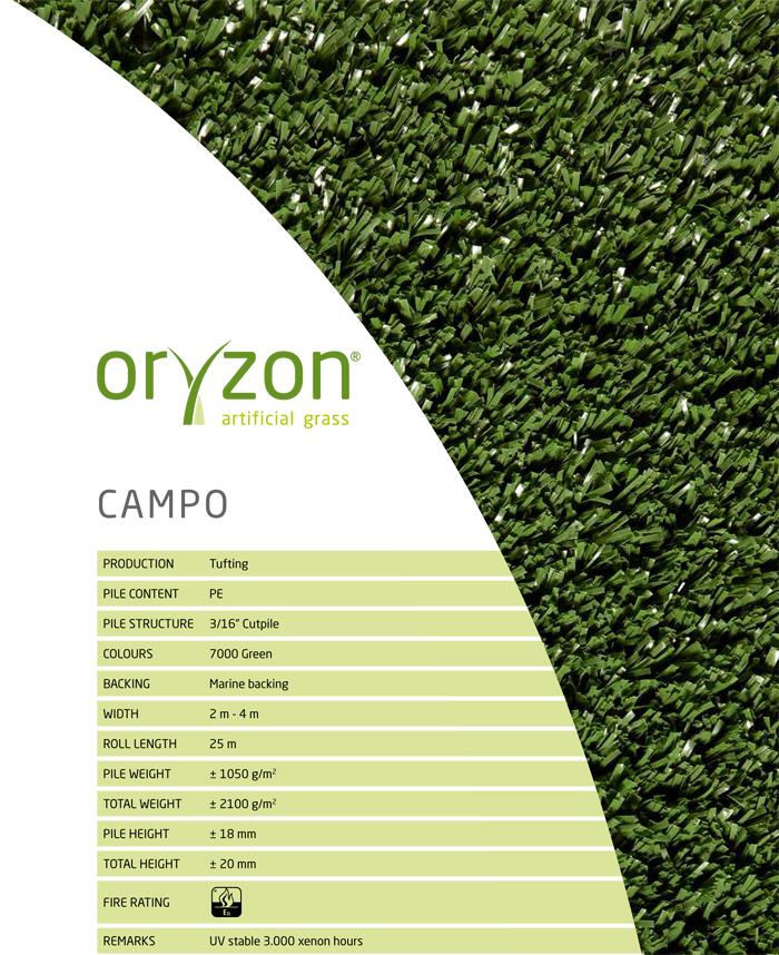 Искусственная трава Oryzon Campo
